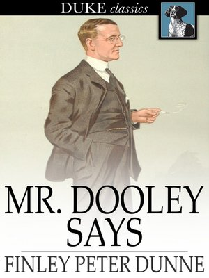cover image of Mr. Dooley Says
