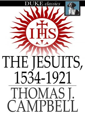 cover image of The Jesuits, 1534-1921