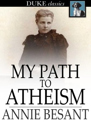cover image of My Path to Atheism