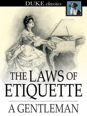 cover image of The Laws of Etiquette