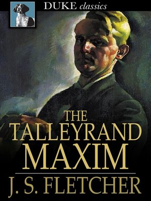 cover image of The Talleyrand Maxim