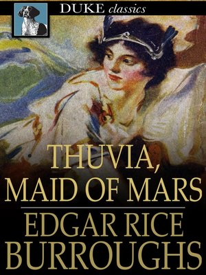 cover image of Thuvia, Maid of Mars