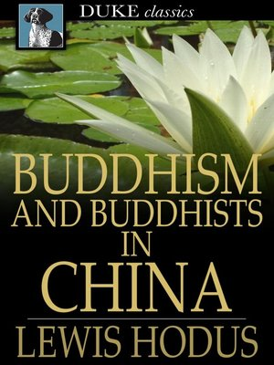 cover image of Buddhism and Buddhists in China