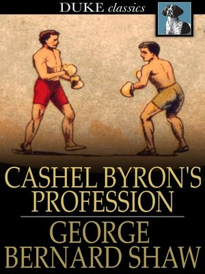 cover image of Cashel Byron's Profession