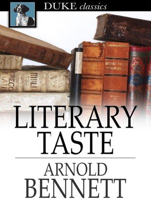 cover image of Literary Taste