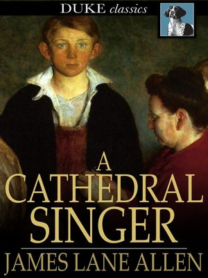 cover image of A Cathedral Singer