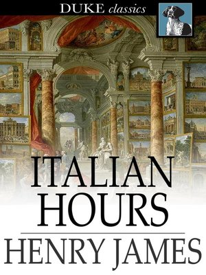 cover image of Italian Hours
