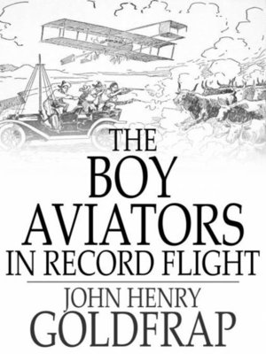 cover image of The Boy Aviators in Record Flight