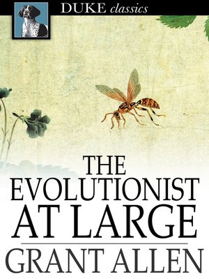 cover image of The Evolutionist at Large
