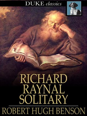 cover image of The History of Richard Raynal, Solitary