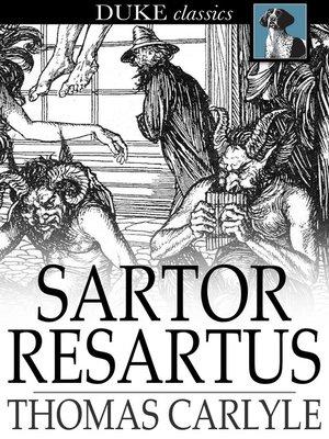 cover image of Sartor Resartus