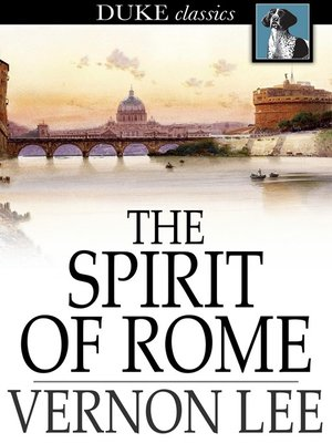 cover image of The Spirit of Rome