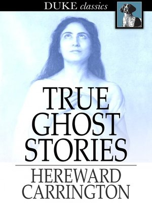 cover image of True Ghost Stories