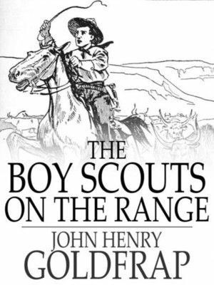 cover image of The Boy Scouts on the Range