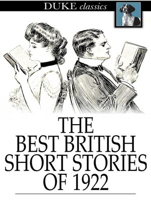 cover image of The Best British Short Stories of 1922