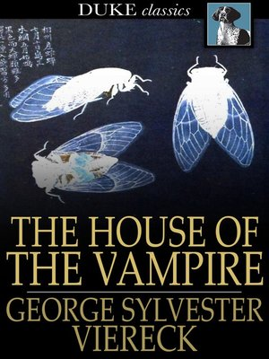 cover image of The House of the Vampire