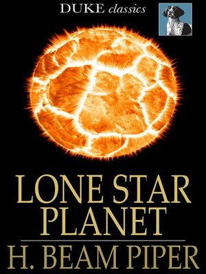 cover image of Lone Star Planet
