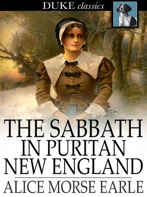 cover image of The Sabbath in Puritan New England