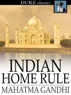 cover image of Indian Home Rule