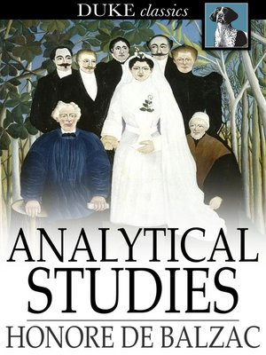cover image of Analytical Studies
