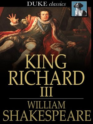 A comparison of the plays richard iii and lear ii