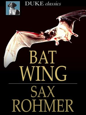 cover image of Bat Wing