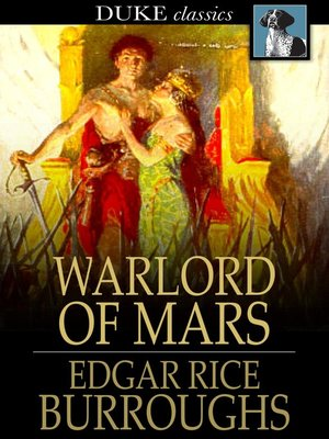 cover image of Warlord of Mars