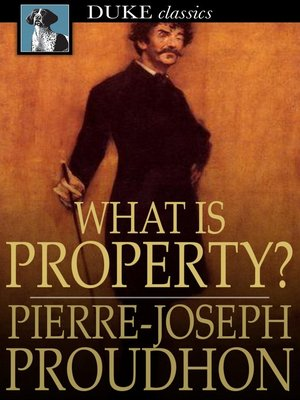 cover image of What is Property?