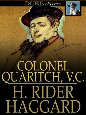 cover image of Colonel Quaritch, V. C.