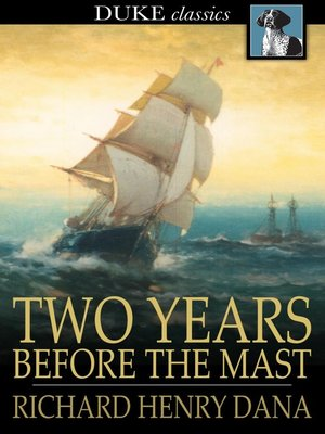 cover image of Two Years Before the Mast