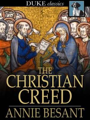 cover image of The Christian Creed