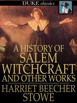 cover image of A History of Salem Witchcraft