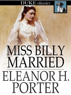 cover image of Miss Billy Married