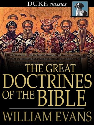 cover image of The Great Doctrines of the Bible