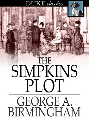 cover image of The Simpkins Plot