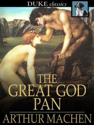 cover image of The Great God Pan