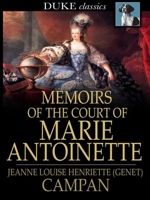 cover image of Memoirs of the Court of Marie Antoinette