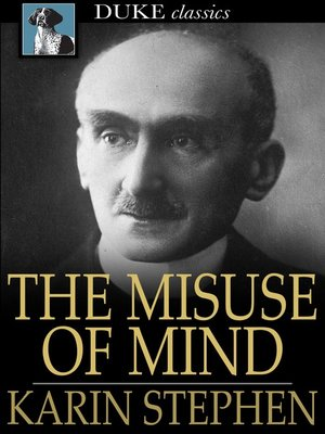 cover image of The Misuse of Mind
