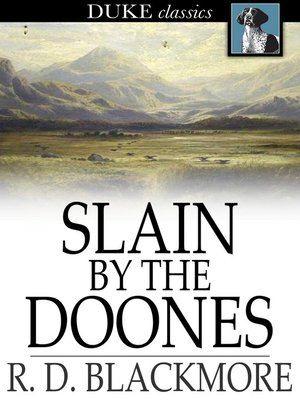 cover image of Slain by the Doones