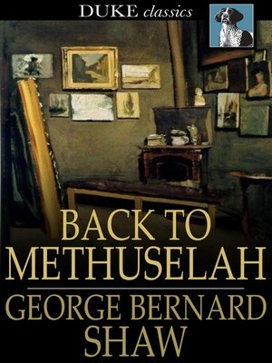 cover image of Back to Methuselah
