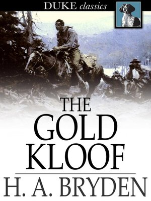 cover image of The Gold Kloof