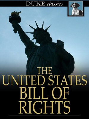 cover image of The United States Bill of Rights