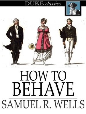 cover image of How to Behave
