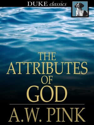 cover image of The Attributes of God