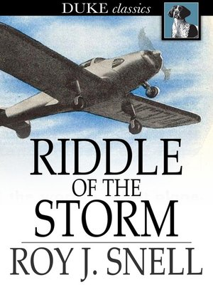 cover image of Riddle of the Storm