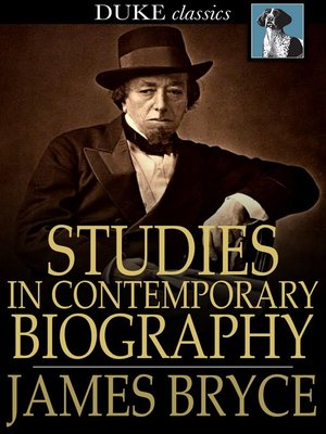 cover image of Studies in Contemporary Biography