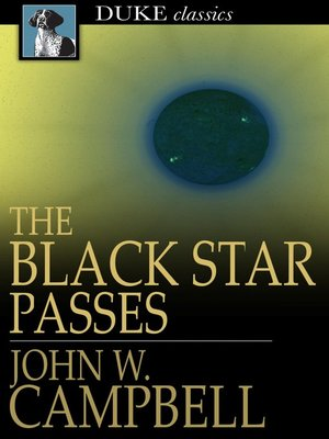 cover image of The Black Star Passes: And Other Stories
