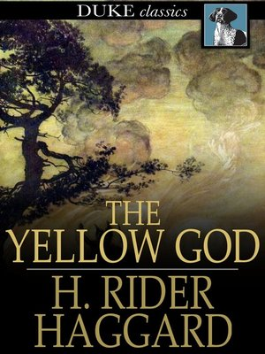 cover image of The Yellow God