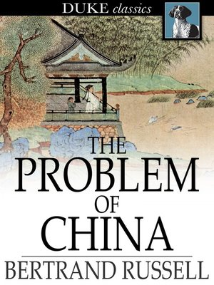 cover image of The Problem of China