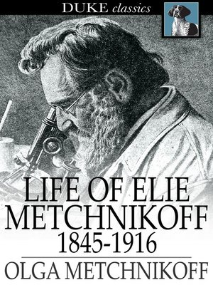 cover image of Life of Elie Metchnikoff